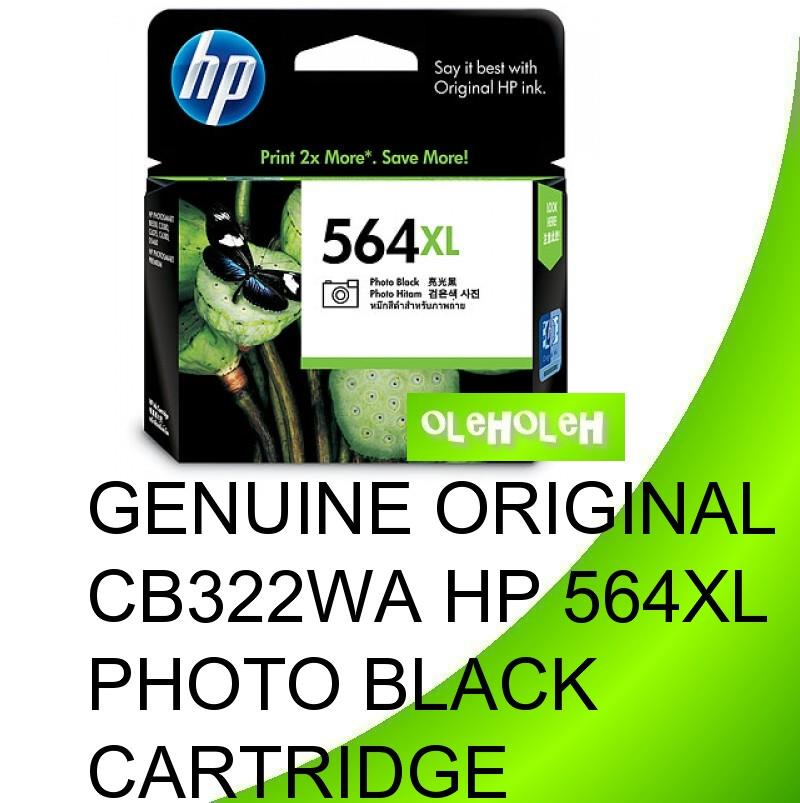 HP Original CB322WA HP 564XL Photo Black Ink Cartridge