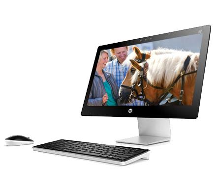 HP PAVILION 23-Q171D ALL-IN-ONE DESKTOP PC ( TOUCH )