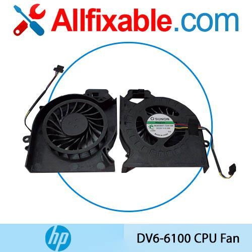 HP Pavilion DV6T-6100 DV6Z DV6-6200 DV7 DV7-6000 Series CPU Fan
