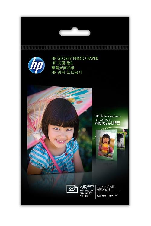 HP Photo Glossy 4R - 20 sheets - 180g (CG851A)