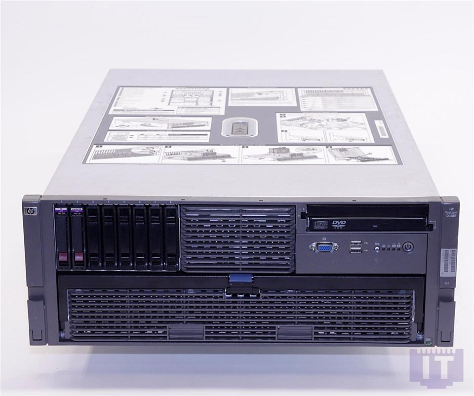 HP Proliant DL585 G5 AMD Opteron 2.3GHz Quad2x2GB RAM 2X146GB HDD