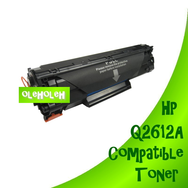 HP Q2612A Q2612 12A Compatible Toner Cartridge 3030, 3050, 3052, 3055