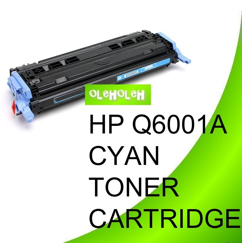 HP Q6001A (124A) Compatible Cyan Toner Cartridge CM1015/CM1017