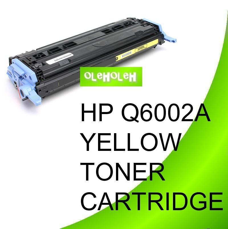 HP Q6002A (124A) Compatible Yellow Toner Cartridge 1600/2600/2605