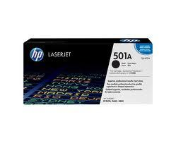 HP Q6470A (501A) Black 6K Toner (Genuine) 3600 6470 501