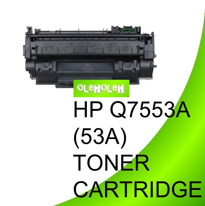 HP Q7553A(53A) Compatible Black Toner Cartridge 2000 series, 2014