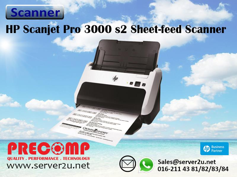HP Scanjet Pro 3000 s2 Sheet-feed Scanner (L2737A)
