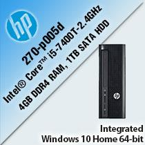 HP SLIMLINE 270-P005D DESKTOP PC