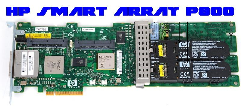 HP Smart Array P800 16-port SAS RAID Controller 501575-001
