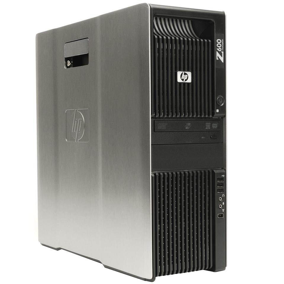HP Z600 WORKSTATION Xeon W3520 8GB DR3 500GB SERVER Windows 7 Pro