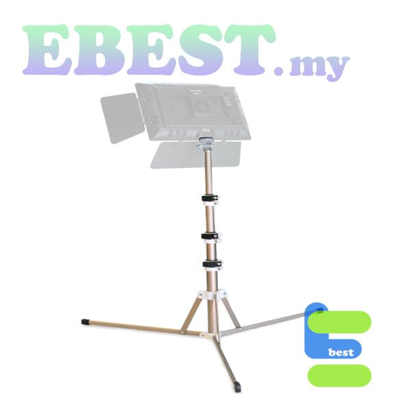 HPUSN STT162 Fancy 1.4m Compact Foldable Students Lighting Stand