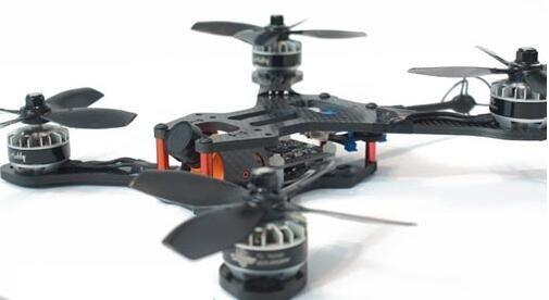 HSK RX5 210 3k 4mm Carbon Fibre Frame Racing Drone DIY quadcopter