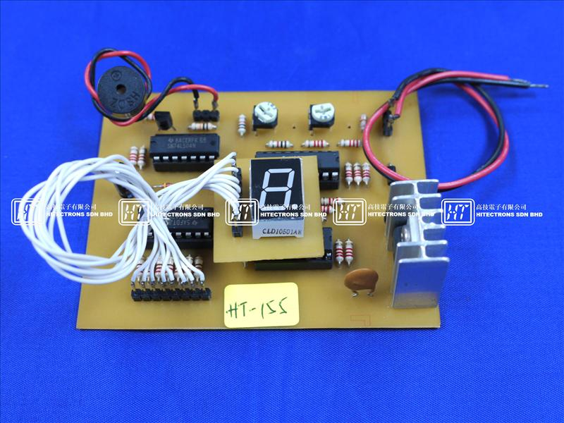 HT155 Charge Monitor For 12V Rechargeable Battery / Electronics Kit