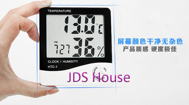 HTC-1 LCD Digital Temperature Humidity Meter Thermometer