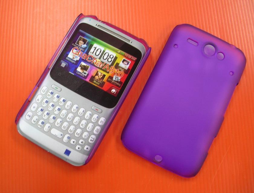 Htc Chacha Purple Htc Chacha Silicon Case Rm20