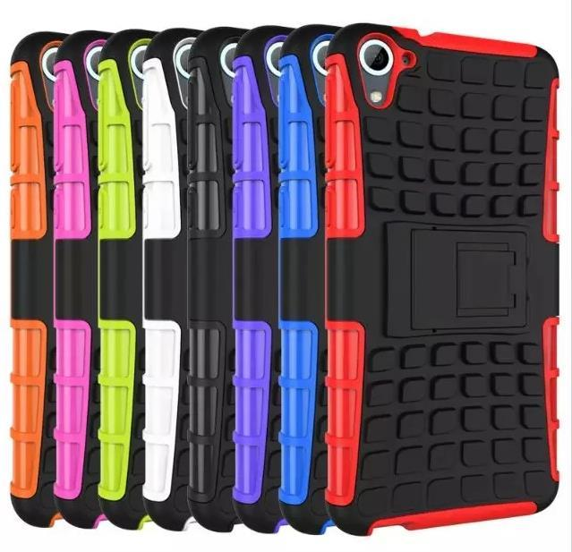 HTC Desire 826 Tough Armor Stand Case Cover Casing + Free Gifts
