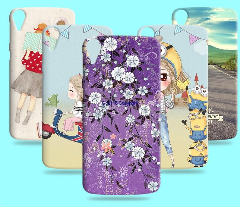 HTC Desire 828 D828W TPU Silicone Creative Soft Back Case Cover Casing