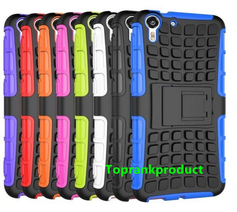 HTC Desire Eye Tough Armor KickStand Back Case Cover Casing + Gift