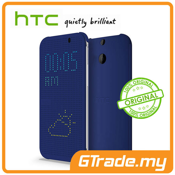 HTC Dot View Cover Case HC M100 | One E8 - Blue