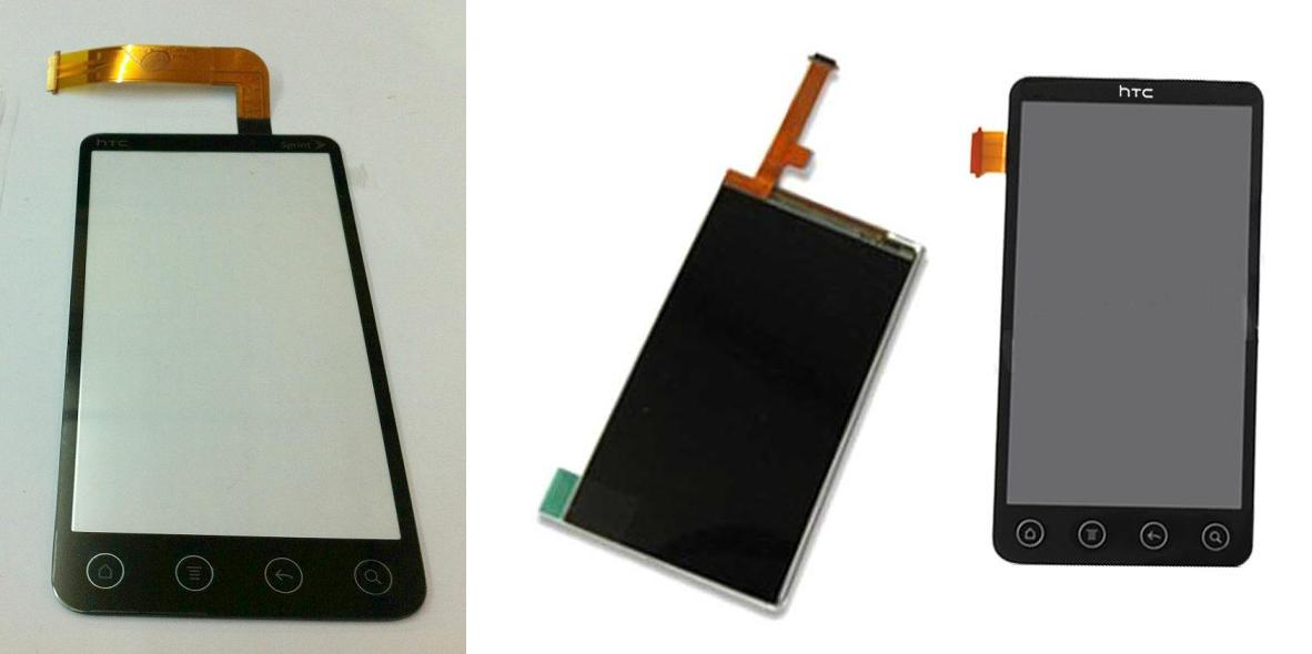 HTC Evo 3D G17 X515m X515 Display Lcd / Digitizer Touch Screen