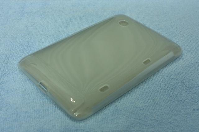 HTC Flyer CLEAR Soft TPU Resin Case