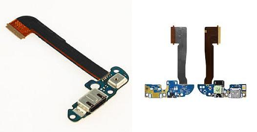 HTC One M7 M8 M9 Plug In USB Charging Port Mic Flex Ribbon Cable