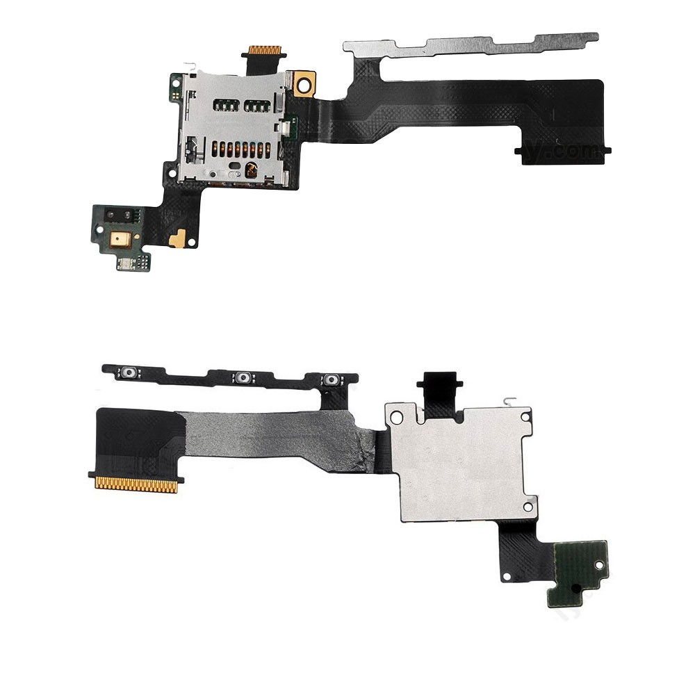 HTC One M9 Power On/Off Volume Micro Sd Flex Ribbon Cable