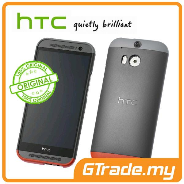 HTC Original Double Dip Hard Shell Case HC C940 | One M8 - Black
