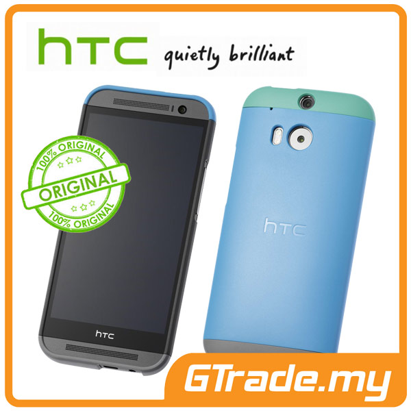 HTC Original Double Dip Hard Shell Case HC C940 | One M8 - Blue