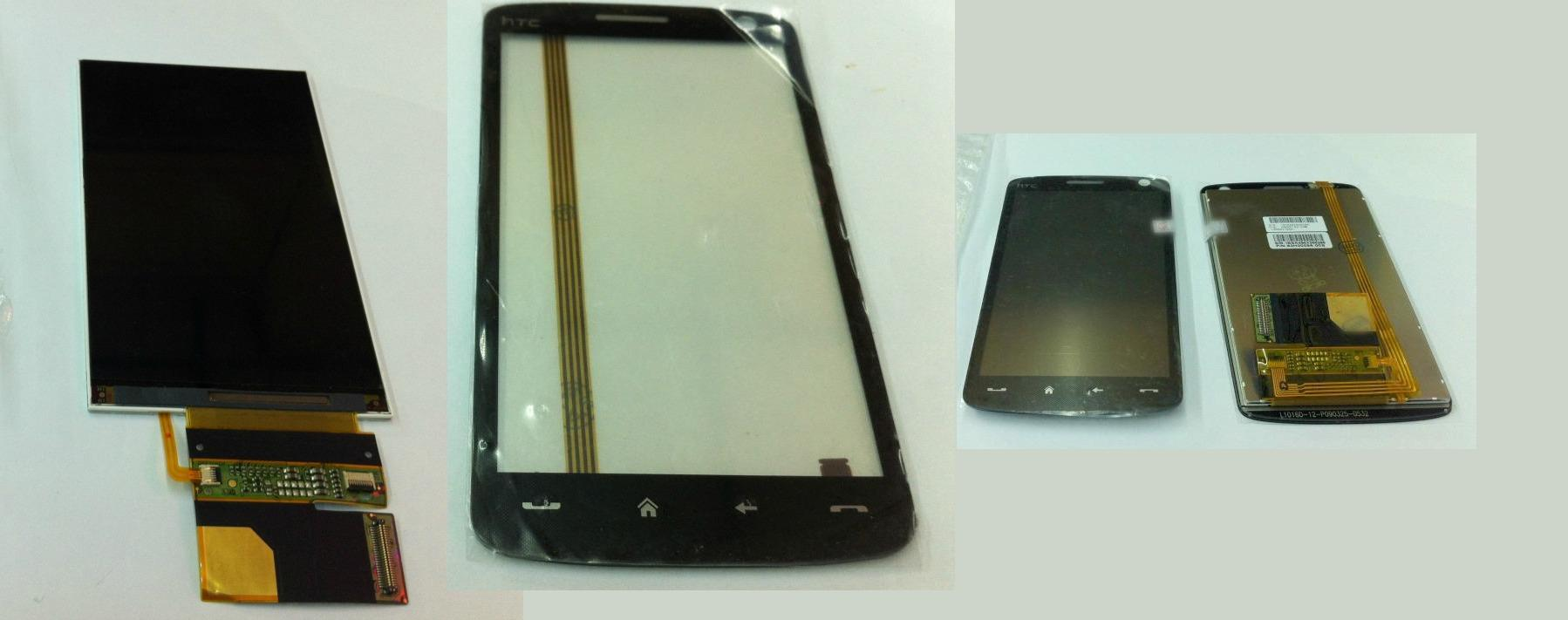 HTC Touch HD 1 HD1 T8282 Display Lcd / Digitizer Touch Screen