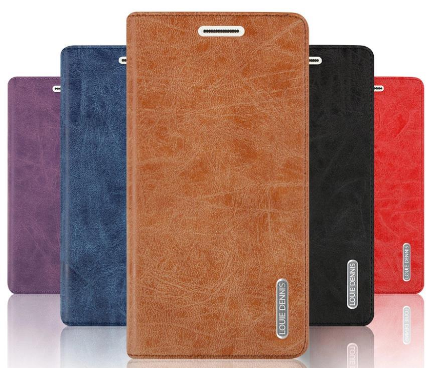Huawei Ascend G700 Flip PU Leather Case Cover Casing + Free Gift