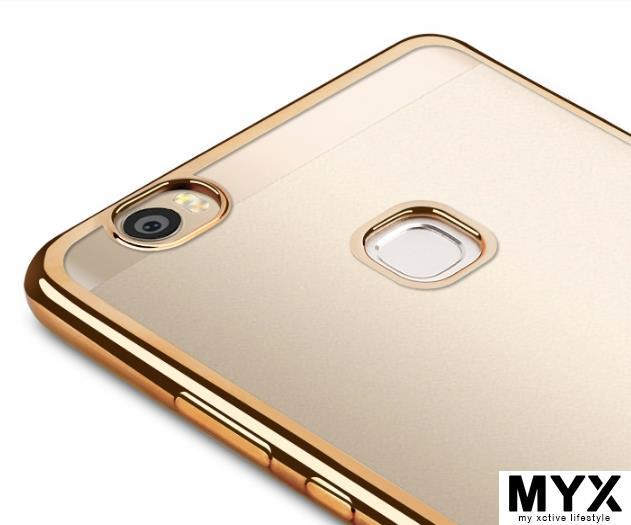 Huawei Glory Honor Note 8 Chrome Silicone Casing Case Cover