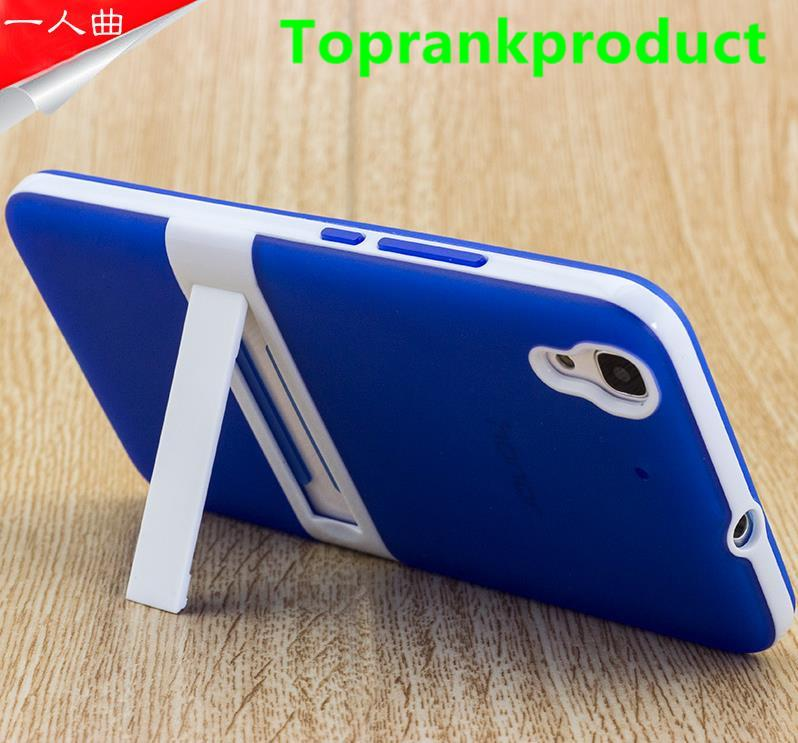 Huawei Honor 4A 4C Y6 Stand Silicone Case Cover Casing + Free Gift