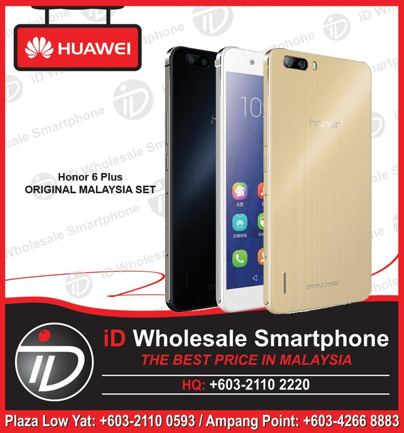 HUAWEI Honor 6 Plus Quad-Core Processor ORIGINAL HUAWEI MALAYSIA