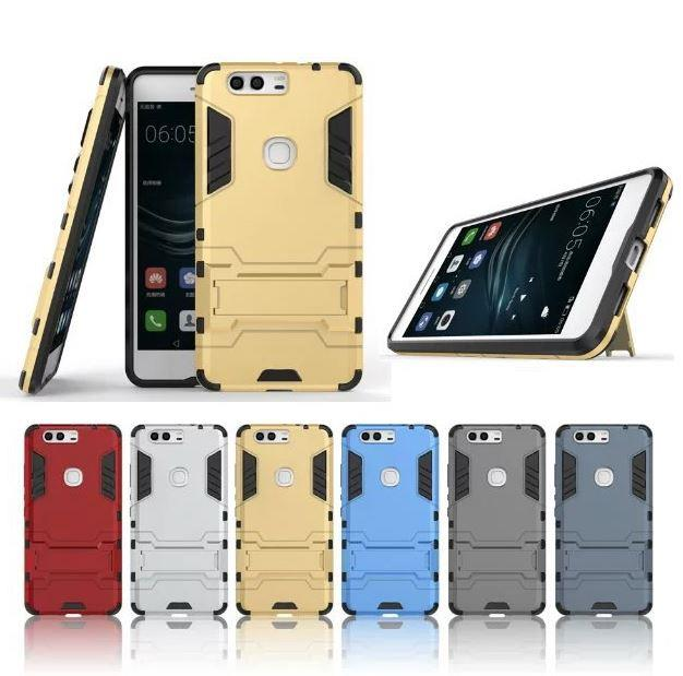 HUAWEI HONOR 8 IRONMAN TRANSFORMER Case with STAND