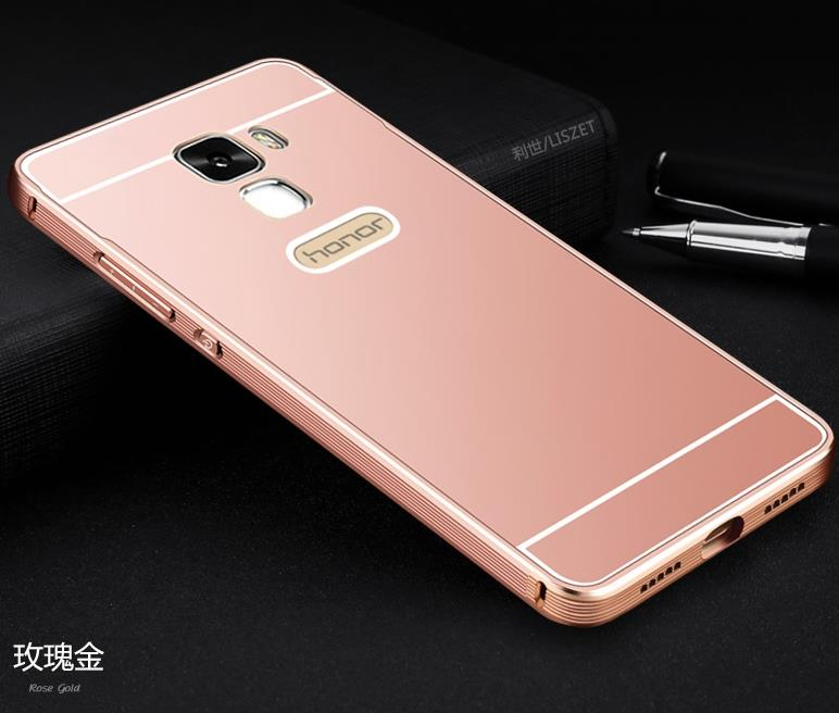 Huawei Honor Glory 7 Metal Frame Casing Case Cover