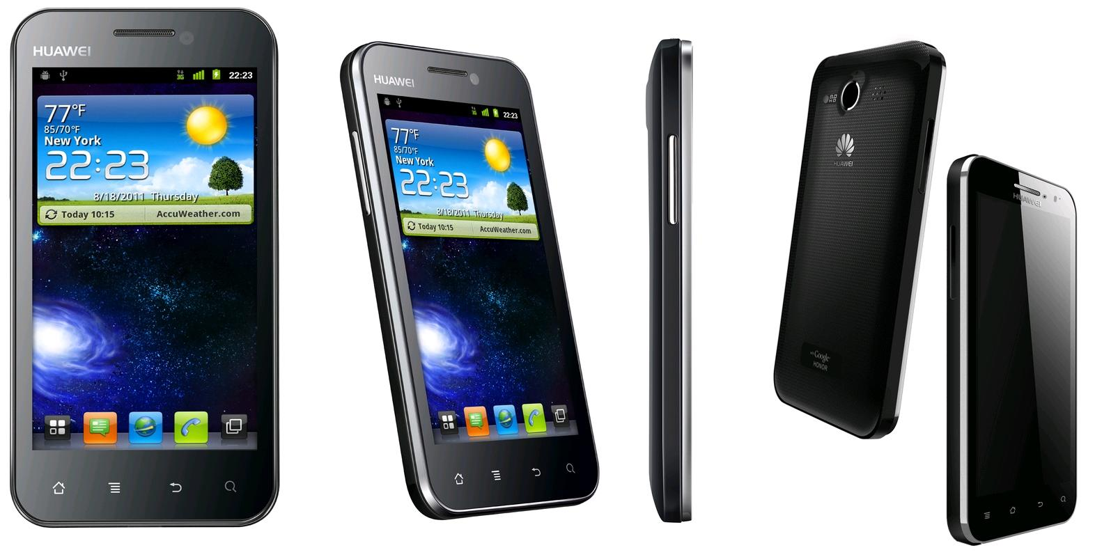 Huawei Honor U8860 Android 4.0 ICS smart phone PDA 3G GPS