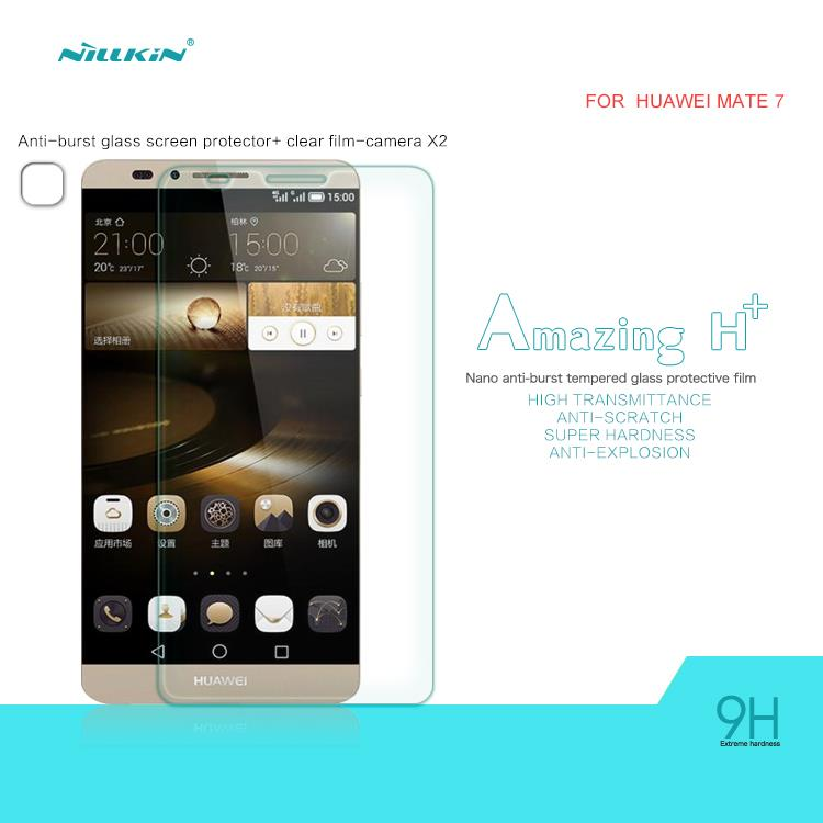 Huawei Mate 7 Nillkin Anti-Explosion H+ Tempered Glass Protector