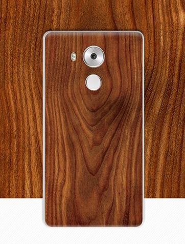 Huawei Mate 8 Wood Design PC Case (FREE Screen Protector)
