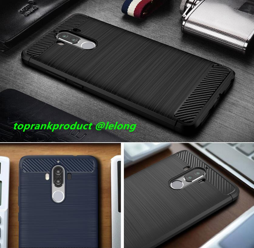 Huawei Mate 9 Mate9 Rugged Armor Silicone Back Case Cover Casing
