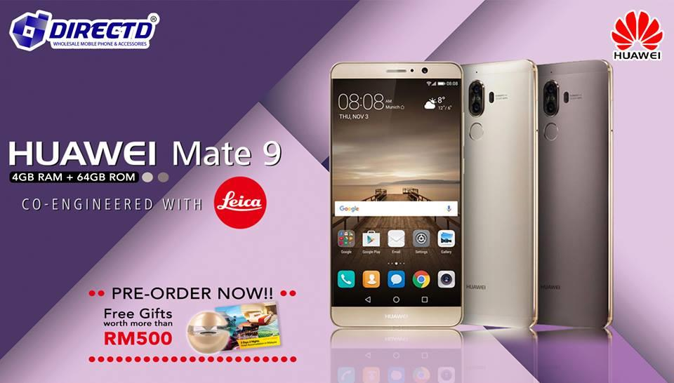 Huawei Mate 9 PRE ORDER NOW FR End 11 14 2017 1015 PM
