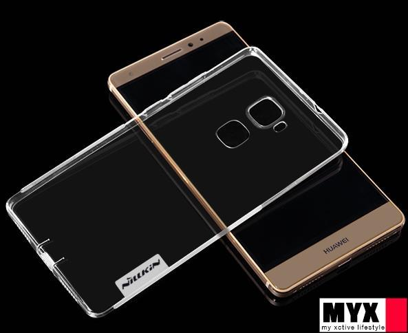 Huawei MATE S Silicone Transparent Soft Casing Case Cover *Free SP