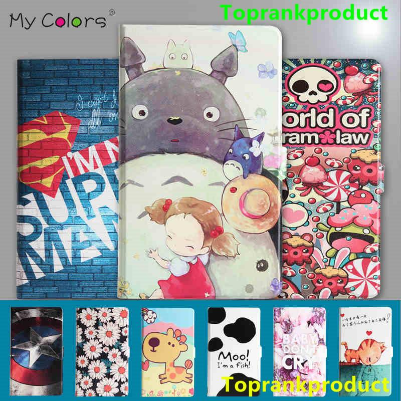 Huawei Mediapad M2 8inch Cartoon Design Flip Smart Case Cover Casing