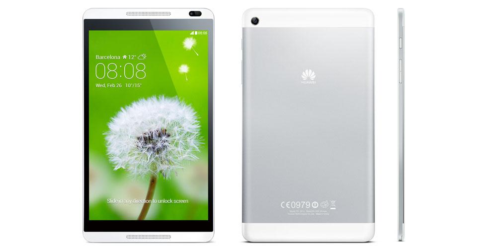 HUAWEI MediaPad X1 White Ori Set + Box