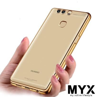 Huawei P9 - 5.2 inch Soft Silicon Transparent Casing Case Cover