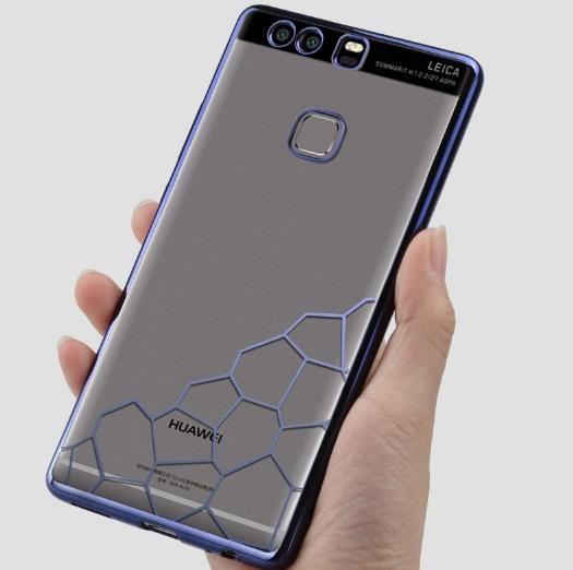 "Huawei P9 5.2"" Silicone Electroplating Casing Case Cover"