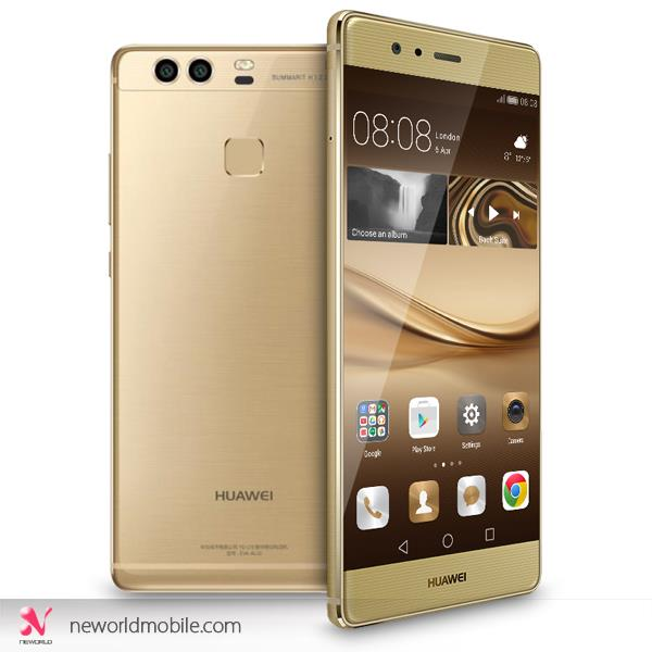 "Huawei P9 + Plus - 5.5"" 4 + 64 Dual 12MP Rear 8MP Front Camera Android"
