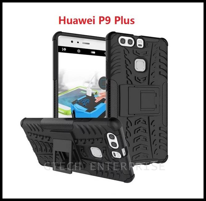 Huawei P9 Plus 5.5 Shockproof Armor Standable Case Cover