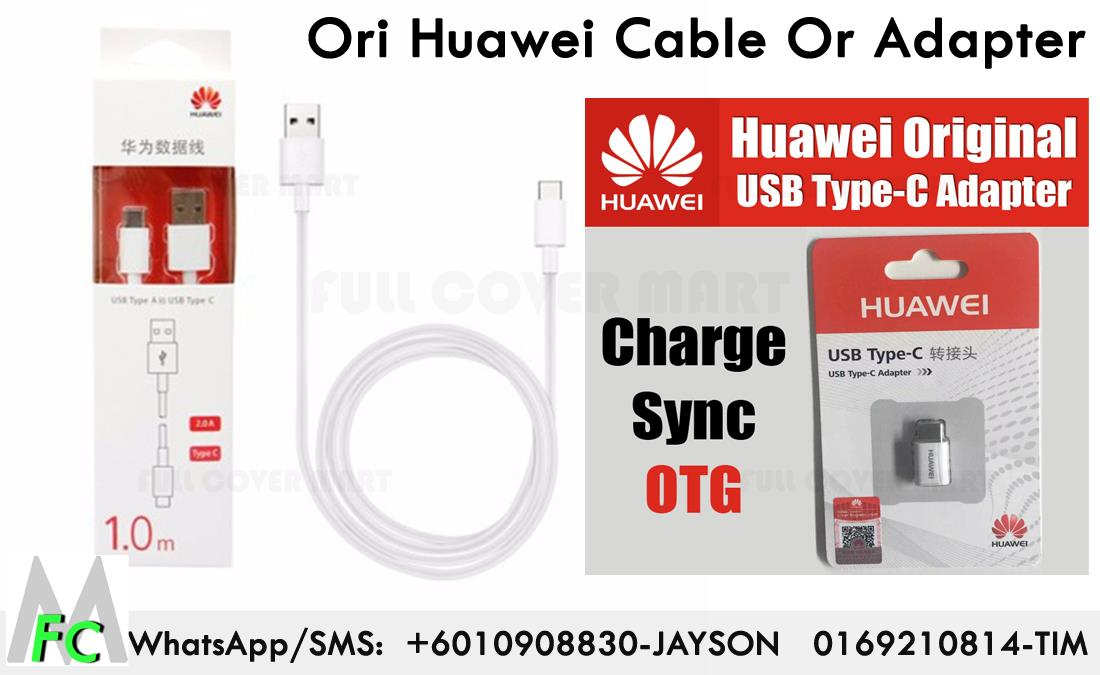Huawei P9 Plus ORIGINAL Type C 1M Data Sync Cable , Type C Adapter