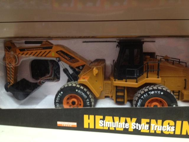 Huge RC Construction Excavator Truck